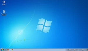 Fondo de pantalla de Windows 7 Starter Edition